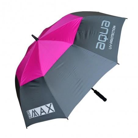 Big Max Aqua UV golfparaplu (grijs/fuchsia)