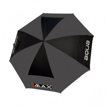 Big Max Aqua XL UV golfparaplu (zwart/grijs)