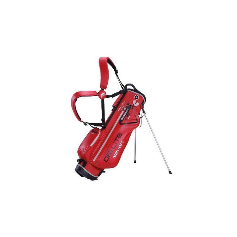 Big Max Dri Lite Seven golf draagtas - standbag (rood)
