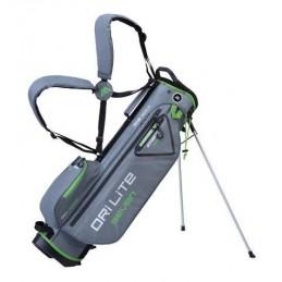 Big Max Dri Lite Seven golf draagtas - standbag (grijs-lijm)
