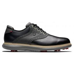 Footjoy Traditions heren golfschoen (zwart) 57904 Footjoy Golfschoenen