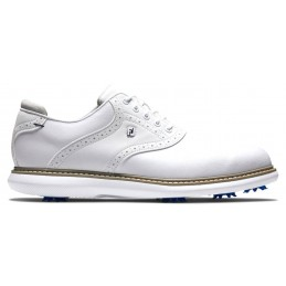 Footjoy Traditions heren golfschoen (wit) 57903 Footjoy Golfschoenen