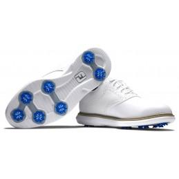 Footjoy Traditions heren golfschoen (wit) 57903 Footjoy Golfschoenen