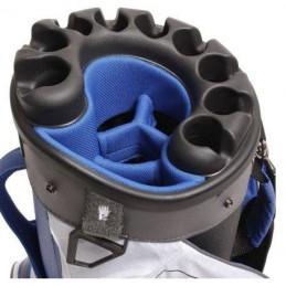 Bennington Quiet Organizer 9 golf cartbag (zwart) BQO9-BR Bennington Golf Golftassen