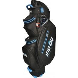 Bennington IRO Quiet Organizer 14 waterdichte golf cartbag (zwart-kobalt) B-IRO-QO14-BC Bennington Golf Golftassen