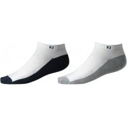 Footjoy ProDry Lightweight Sportlet dames golfsokken - 2 paar 18077P Footjoy Golf sokken