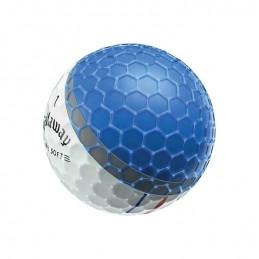 Callaway ERC Soft Triple Track golfballen dozijn geel 642795612 Callaway Golf Golfballen