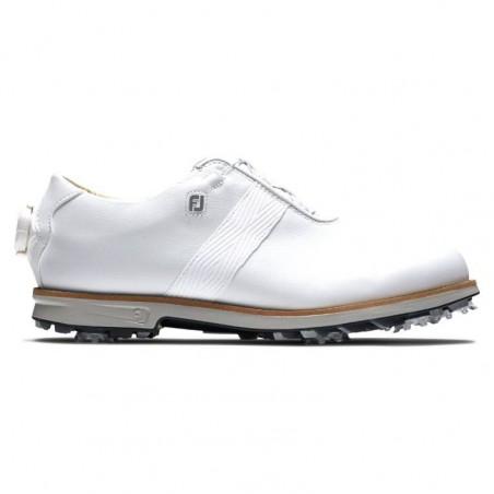 FootJoy Dryjoys Premiere BOA dames golfschoen (wit)
