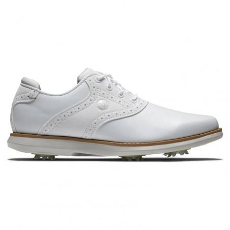 Footjoy Traditions dames golfschoen (wit)