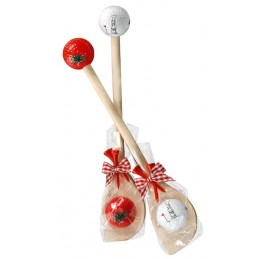 Golf cadeau - houten pollepel