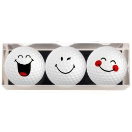 Golf cadeau - 3 golfballen...