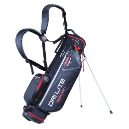 Big Max Dri Lite Seven golf draagtas - standbag (zwart-rood)