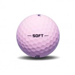 Pinnacle Soft golfballen 3 stuks (roze) P6325S-BIL Pinnacle Golfballen