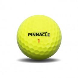 Pinnacle Rush golfballen 3 stuks (geel) P4134S-BIL Pinnacle Golfballen