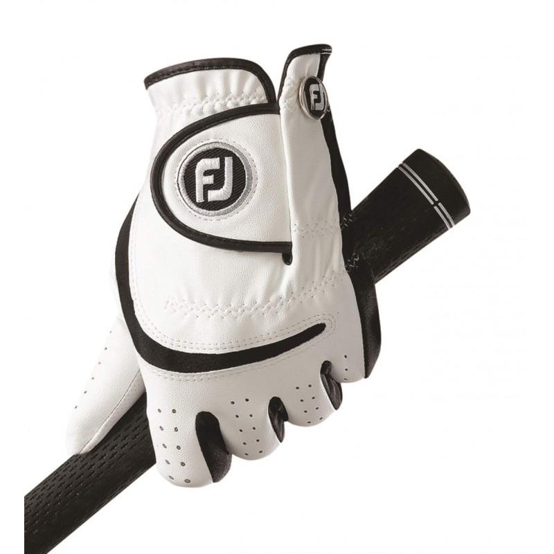 FootJoy Junior golfhandschoen - links (wit/zwart) 65932E Footjoy Golfhandschoenen