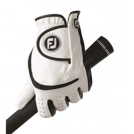 FootJoy Junior golfhandschoen - links (wit/zwart)