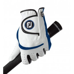 FootJoy Junior golfhandschoen - links (wit/blauw) 65932E Footjoy Golfhandschoenen