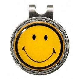 Magnetische marker op hatclip - Smiley (1 stuks)