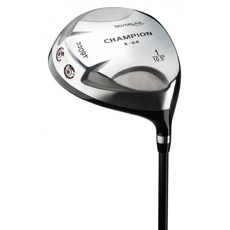 Silverline Champion X-24 titanium dames golf driver rechtshandig 24112WR Silverline Golf Golfclubs