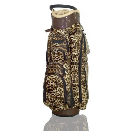 Lanig Son Vida golftas (tijger print) LG101808 Silverline Golf Golftassen