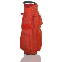 Lanig Son Vida golftas (rood) LG101804 Silverline Golf Golftassen