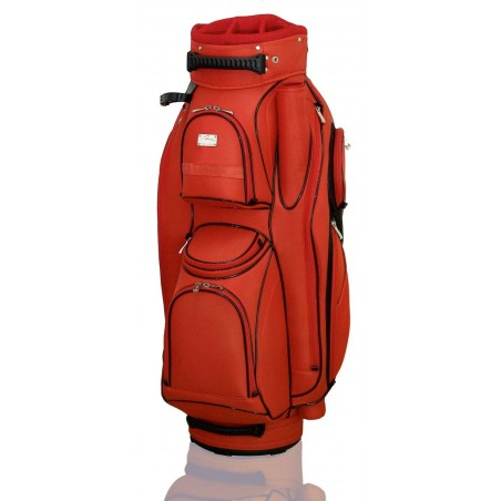 Lanig Garda Cartbag (rood) LG101705 Silverline Golf Golftassen