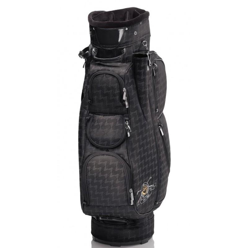 Lanig Italia Cartbag (zwart) LG101601 Silverline Golf Golftassen