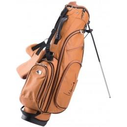 Lanig Alabama Lederen Standbag (bruin) LG101810 Silverline Golf Golftassen