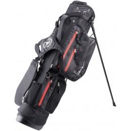 Lanig Traveller Waterdichte Standbag (zwart) LG100401 Silverline Golf Golftassen