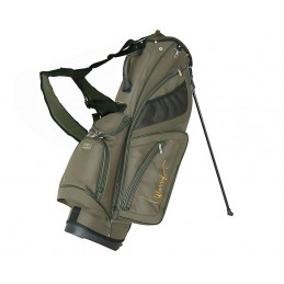 Lanig Troon Standbag (kaki) LG100604 Silverline Golf Golftassen