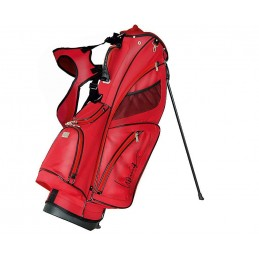 Lanig Troon Standbag (rood) LG100603 Silverline Golf Golftassen