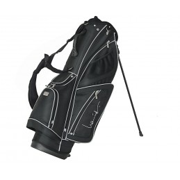 Lanig Troon Standbag (zwart) LG100602 Silverline Golf Golftassen