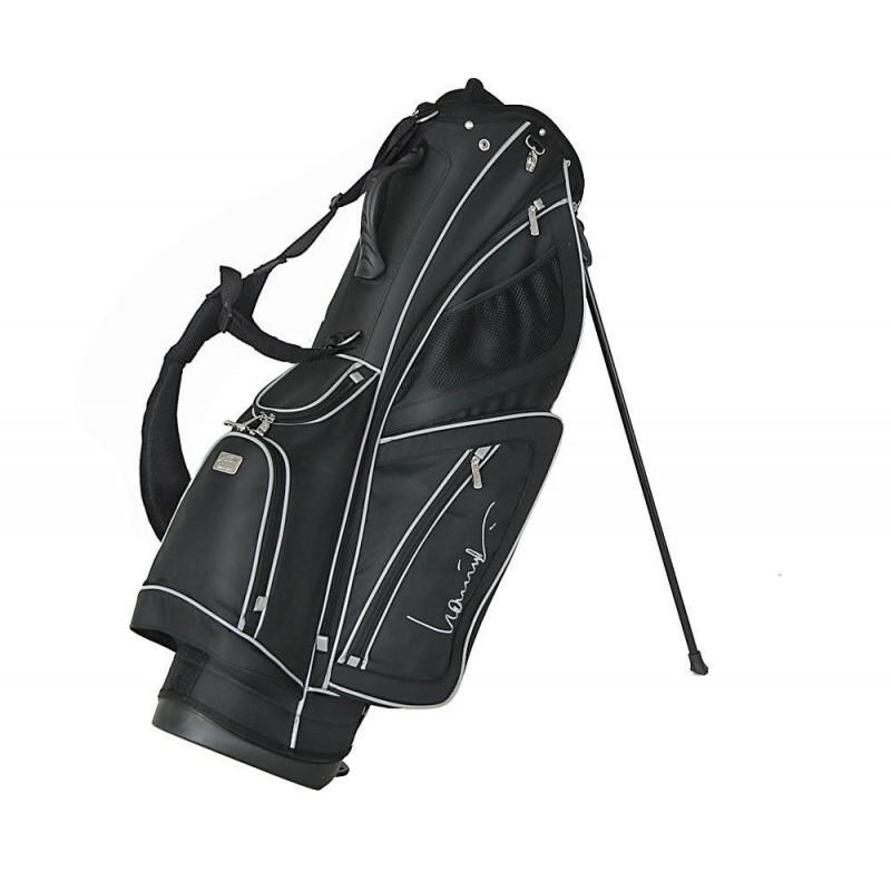 Lanig Troon Standbag (zwart) LG100602 Silverline Golf Golftassen