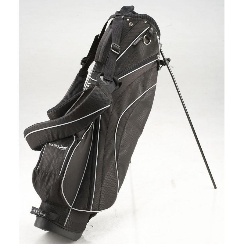 Silverline Sydney golf Standbag (zwart) 180605 Silverline Golf Golftassen