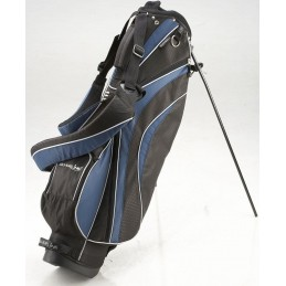 Silverline Sydney golf standbag (zwart/blauw) 180606 Silverline Golf Golftassen