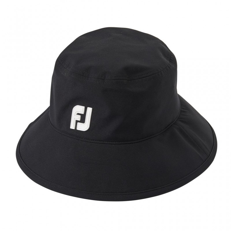 FootJoy regenhoed DryJoys (zwart) 35809 Footjoy Golfkleding
