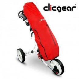 Clicgear rain cover+ (rood) GC4400035 Clicgear Golf (Regen)hoezen