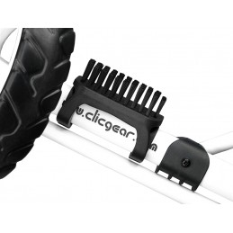 Clicgear shoe brush (zwart)