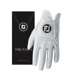 FootJoy Pure Touch heren golfhandschoen links (wit) 64011E Footjoy Golfhandschoenen