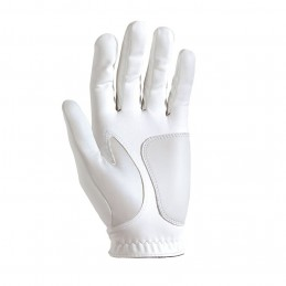 FootJoy WeatherSof golfhandschoen dames - links (wit) 67947E Footjoy Golfhandschoenen