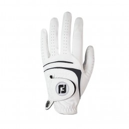 FootJoy WeatherSof golfhandschoen heren - links (wit) 66245E Footjoy Golfhandschoenen