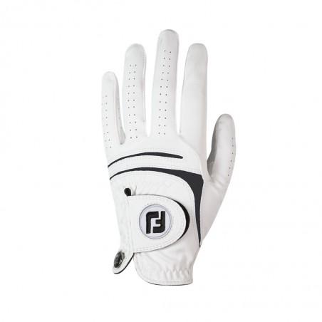 FootJoy WeatherSof golfhandschoen heren - links (wit) 66245E Footjoy Golfhandschoenen