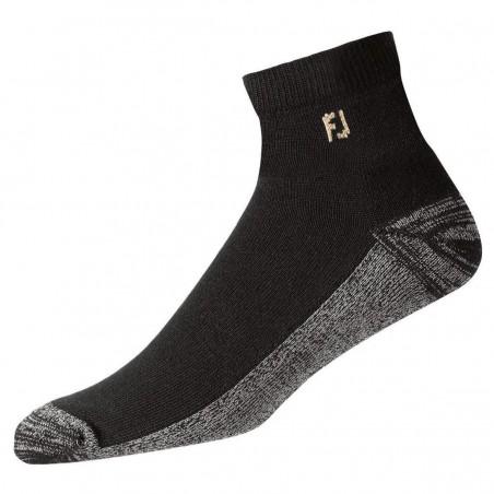 FootJoy ProDry Quarter heren golfsokken (zwart) 17030 Footjoy Golf sokken