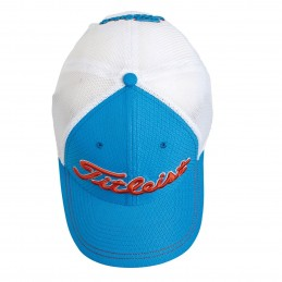 Titleist Stretch Tech golfcap (blauw/wit)