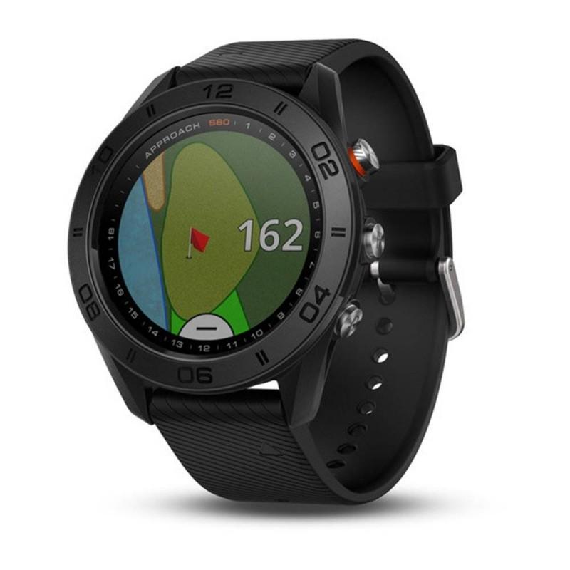 Garmin Golf-GPS horloge Approach S60 (zwart) 010-01702-00 Garmin GPS & Lasermeters