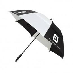 FootJoy DryJoys golfparaplu (zwart/wit)
