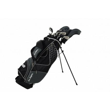 Ben Sayers M8 rechtshandige heren golfset met stalen shafts (zwarte stand bag) G6413 Ben Sayers Golf Golfsets