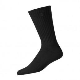 Footjoy ComfortSof heren golfsokken 3 pack (zwart)