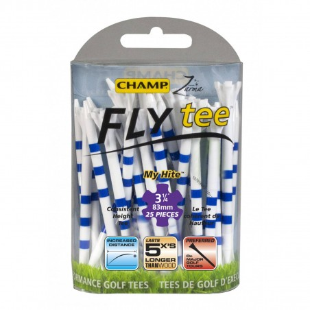 Champ FLYtee My Hite 3 1/4 inch 83mm tees 153734 Champ Golfspikes Golfaccessoires