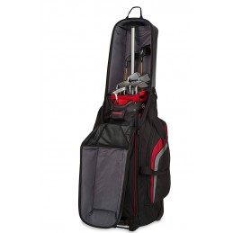 BagBoy T-10 travel cover (zwart/rood) BB97002 BagBoy Golf Travelcovers